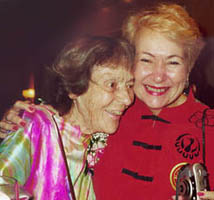 Ann Ogden and Faye Girsh