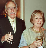 WF President Richard MacDonald and wife Paddy