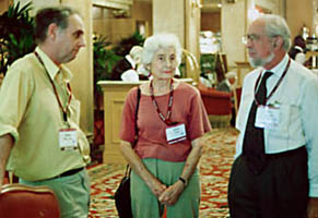 Philip Nitschke, Sally Troy and Arhtur Metcalfe